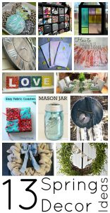 13 Spring Decor Ideas {MMM #272 Block Party}