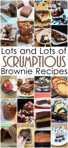 Lots of Yummy Brownie Recipes {MMM #279 Block Party}