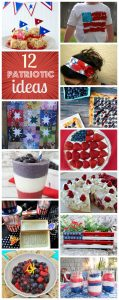 12 Patriotic Ideas for Memorial Day {MMM #278 Block Party}