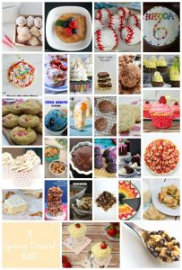 30 Spring Dessert Recipes  {MMM #276 Block Party}