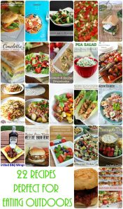 Easy Summer Recipes Perfect for Eating Outdoors {MMM #281 Block Pary}