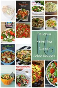 16 Delicious Refreshing Summer Salad Recipes {MMM #282 Block Party}