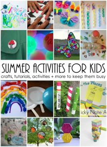 Summer Activities For Kids {MMM #283 Block Party}