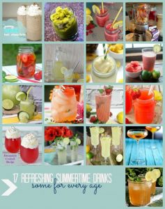 17 Refreshing Summer Time Drink Recipes {MMM #286 Block Party}