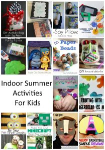 Indoor Activities for Kids {MMM #285 Block Party)