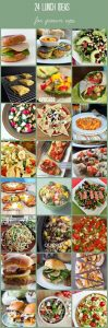 24 Lunch Ideas for GROWN UPS! {MMM #290 Block Party}