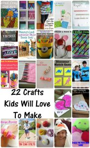 22 Crafts Kids will Love {MMM #289 Block Party}