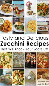 Tasty and Delicious Zucchini Recipes {MMM #291 Block Party}