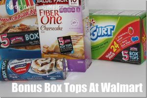 Raise Money For Your Kids' School- Bonus Box Tops at Walmart
