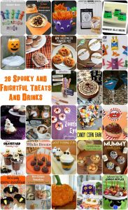 Spooky and Frightful Halloween Drinks and Treats {MMM #297 Block Party}