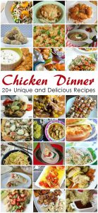 Chicken Dinner Recipes {MMM #295 Block Party}
