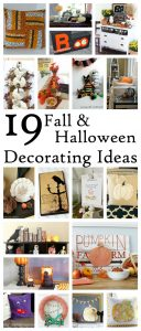 19 Fall and Halloween Decorating Ideas {MMM #296 Block Party}