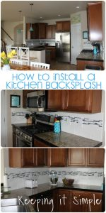 How to Install a Kitchen Backsplash with Wavecrest and Mosaic Tile using Sticky Mat