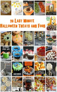 Last Minute Halloween Food Ideas {MMM #300 Block Party}