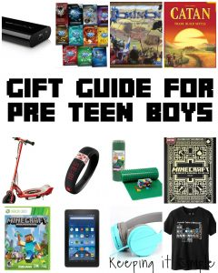 Guide Gift for Pre Teen Boys and $100 Gift Card GIVEAWAY