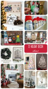 12 Christmas Holiday Decor {MMM #306 Block Party}