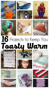 16 Projects to Keep you Toasty Warm {MMM #304 Block Party}