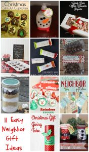 Christmas Neighbor Gifts {MMM #309 Block Party}