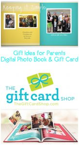 Great Gift Idea for Parents- Gift Card and Photo Book