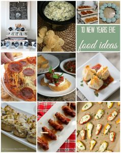 10 New Year's Eve Food Ideas {MMM #310 Block Party}