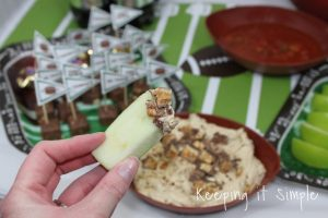 Football Game Food Ideas- SNICKERS® Blitz Dip