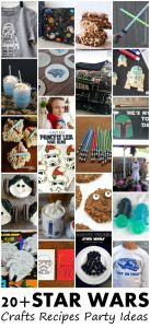 20+ Star Wars Crafts, Recipes and Party Ideas {MMM #311 Block Party}