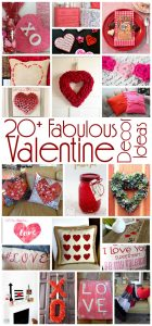 20 Fabulous Valentine Decor Ideas {MMM #316 Block Party}