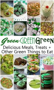 Green Treats and Meals for St. Patrick's Day {MMM #319 Block Party}