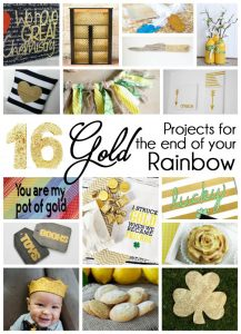 16 Gold Projects for the end of the Rainbow { MMM #320 Block Party}
