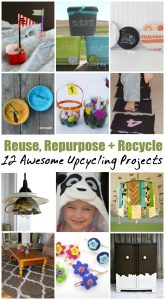 Reuse, Repurpose and Recycle Ideas and Crafts {MMM #323 Block Party}