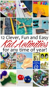 12 Kid Activities that are Clever and Fun {MMM #327 Block Party}