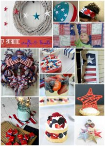 Patriotic Crafts and Recipes {MMM #330 Block Party}