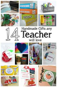 14 Handmade Teacher Gifts {MMM #328 Block Party}