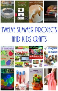 12 Summer Projects and Kid Crafts {MMM #333 Block Party}