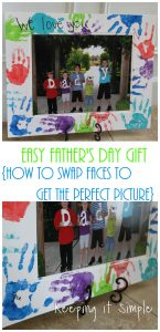 How to Swap Faces in Paint.net {Easy Father's Day Gift}