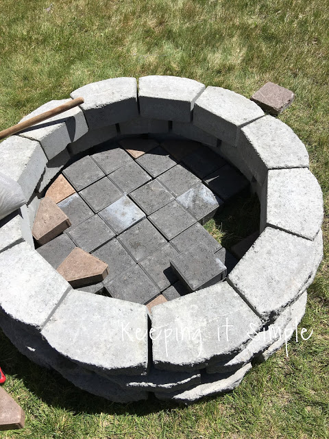 How to Build a DIY Fire Pit for Only $60 - Keeping it ...