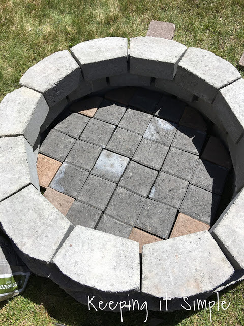 How To Build A Diy Fire Pit For Only 60 Keeping It