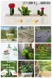 10 Fun Garden Ideas {MMM #334 Block Party}