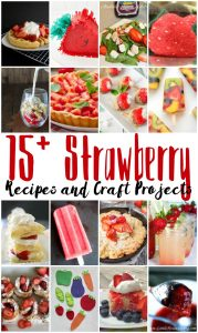 15 Strawberry Recipes and Crafts {MMM #335 Block Party}