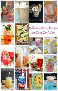 Refreshing Drinks To Cool Off With {MMM #337 Block Party}
