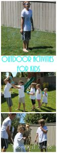 Outdoor Activities for Kids {Let Kids be Kids}