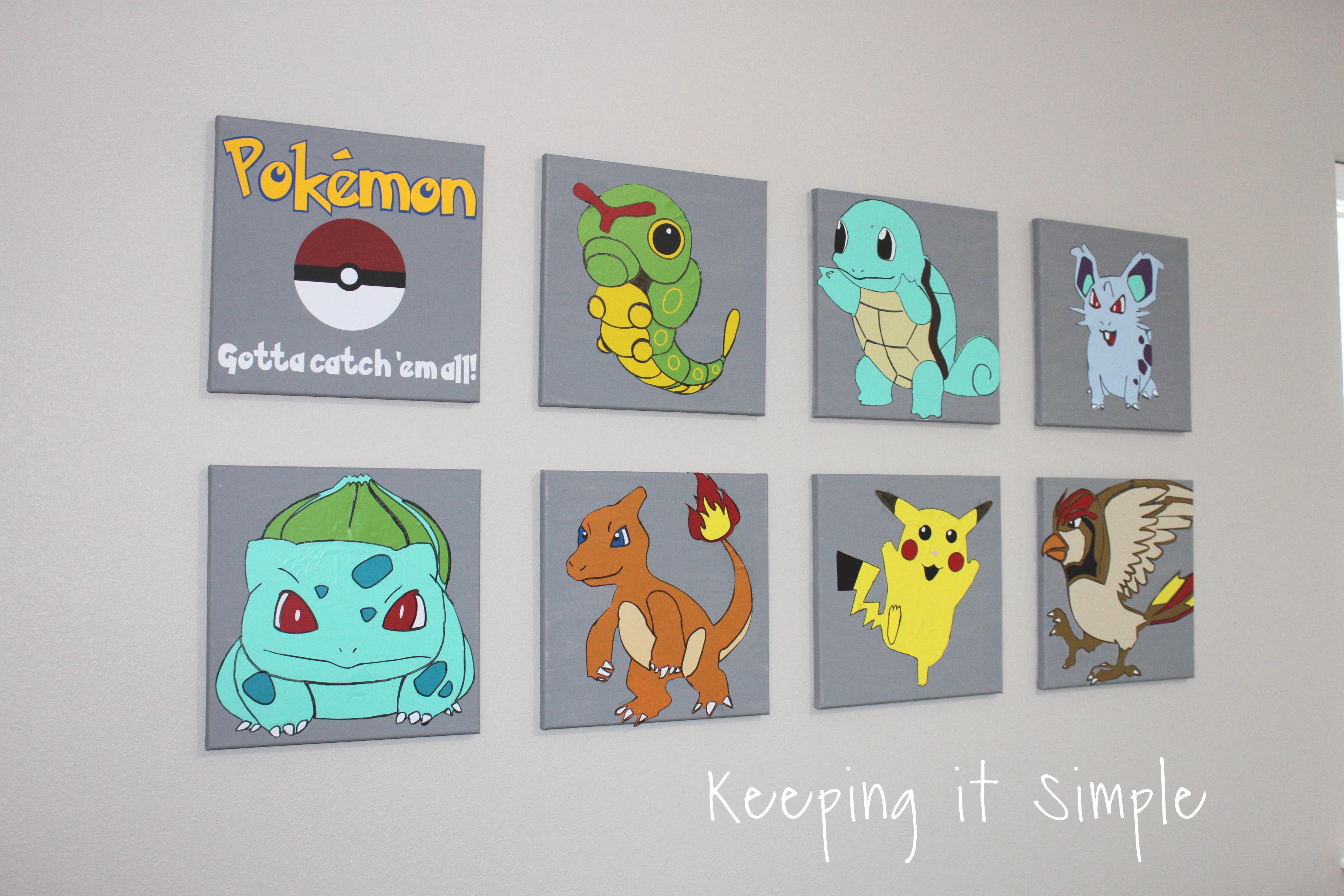 Pokemon Vinyl Decals Wall Art (4)2