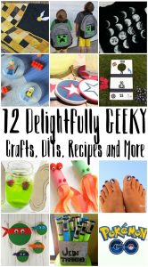 12 Geeky Crafts, DIY, Recipes and More {MMM #339 Block Party}
