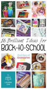 16 Brilliant Back To School Ideas {MMM #344 Block Party}