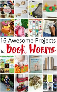 16 Awesome Projects for Book Worms {MMM #343 Block Party}