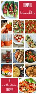 Tomato Recipes {MMM #346 Block Party}
