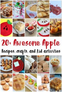 Apple Crafts and Recipes {MMM #347 Block Party}