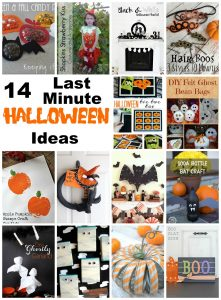 Last Minute Halloween Ideas {MMM #353 Block Party}