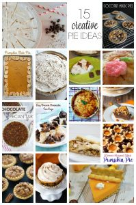 14 Pie Ideas for Thanksgiving {MMM #354 Block Party}