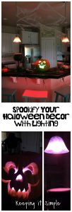 Spookify Your Halloween Decor with Lighting- Philips Hue Halloween